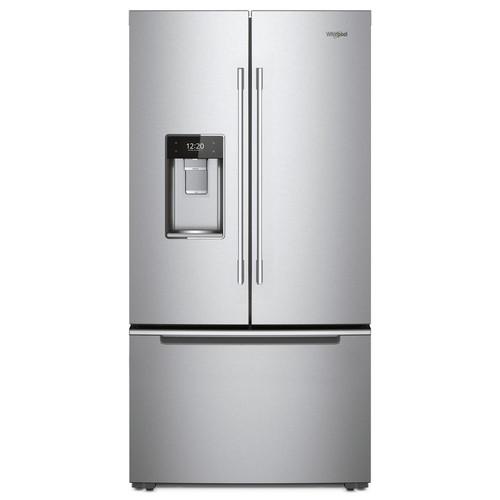 Whirlpool 36 in. 24 cu. ft. French Door Refrigerator in Fingerprint Resistant Stainless Steel, Counter Depth
