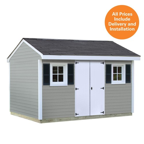 Sheds USA Installed 10 ft. x 12 ft. Vinyl Classic