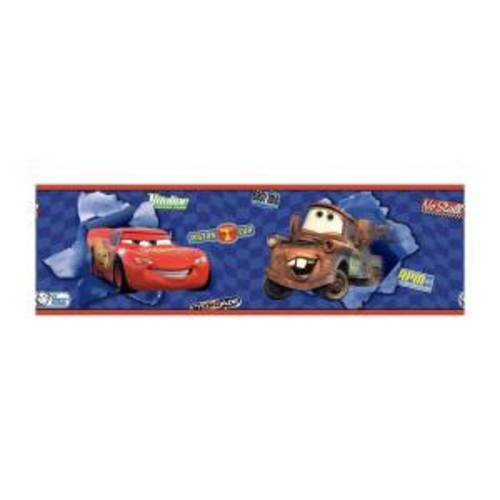 York Wallcoverings Disney Kids Cars McQueen and Mater Wallpaper Border