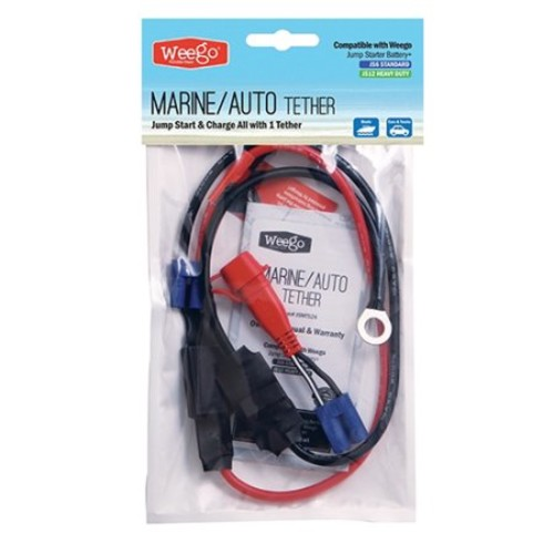 Weego - Marine/Auto Tether for Jump Starter Battery