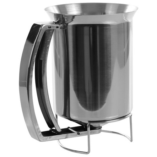 Chef Buddy - 3-Cup Pancake Batter Dispenser - Stainless