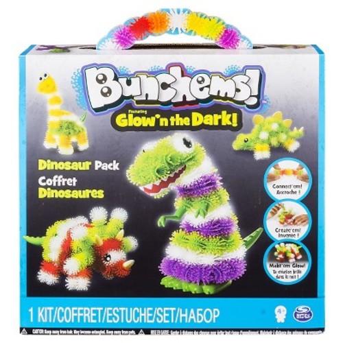 Bunchems Glow'n The Dark Dinosaur Pack