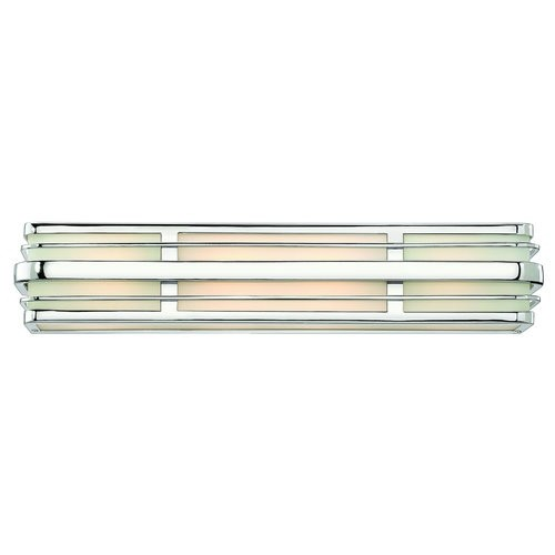 Hinkley Lighting 5234-GU24 4 Light Title 24 Fluorescent Bath Bar from the Winton Collection