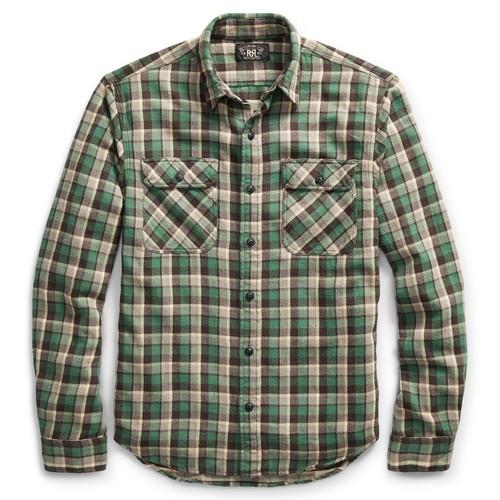 Matlock Plaid Cotton Workshirt