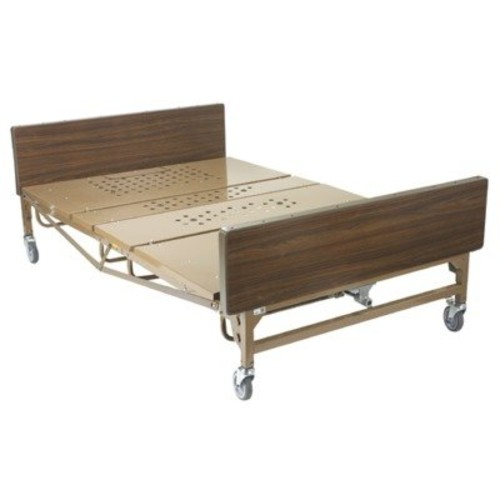 Drive Medical Heavy Duty Bariatric Hospital Bed, Brown, 54