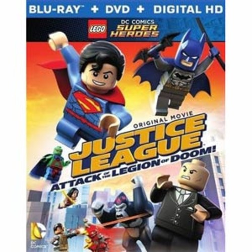 LEGO DC Comics Super Heroes: Justice League - Attack of the Legion of Doom [Blu-ray/DVD]
