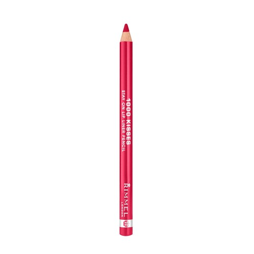 1000 Kisses Stay On Lip Liner Pencil, Red Dynamite 021, .04 oz (1.2 g)