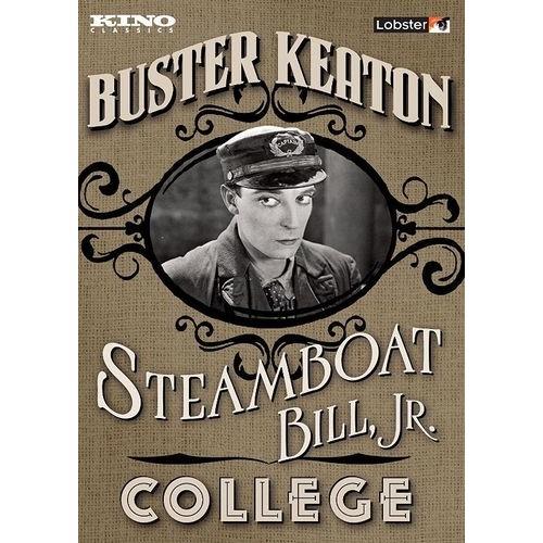 Steamboat Bill, Jr./College [2 Discs] [DVD]