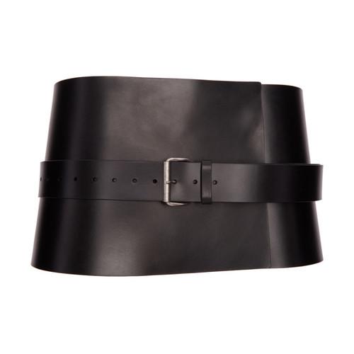ANN DEMEULEMEESTER Black Kenya Waist Belt