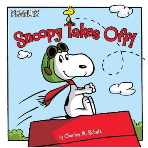 Snoopy Takes Off! (Hardcover)