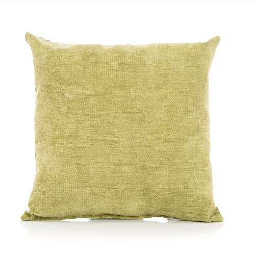 Sweet Potato by Glenna Jean Uptown Traffic Pillow - Green Velvet