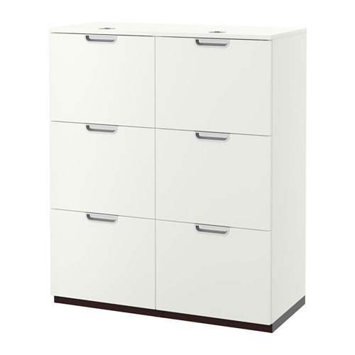 GALANT Storage combination with filing, white