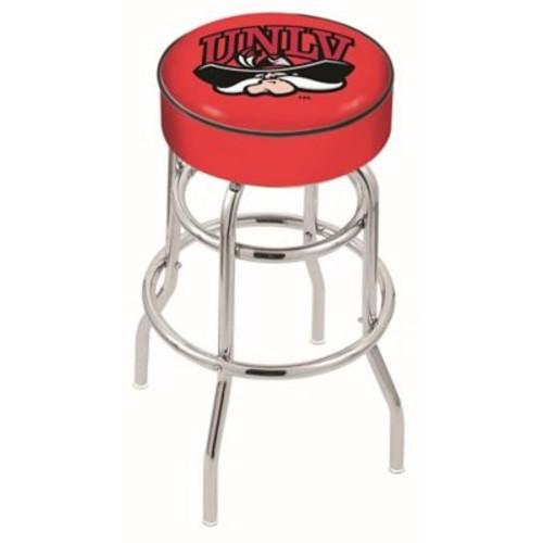Holland Bar Stool NCAA 25'' Swivel Bar Stool; UNLV Rebels