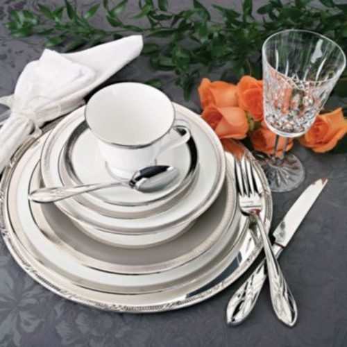 grange Platinum Bread and Butter Plate