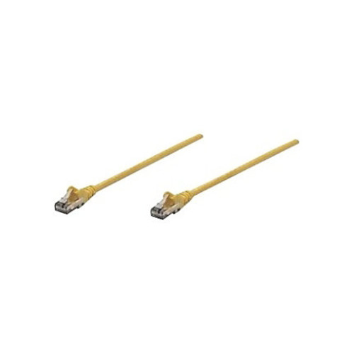 Intellinet Patch Cable, Cat6, UTP, 1.5', Yellow