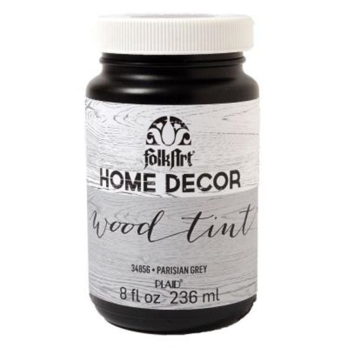 FolkArt Home Decor 8 oz. Grey Wood Tint