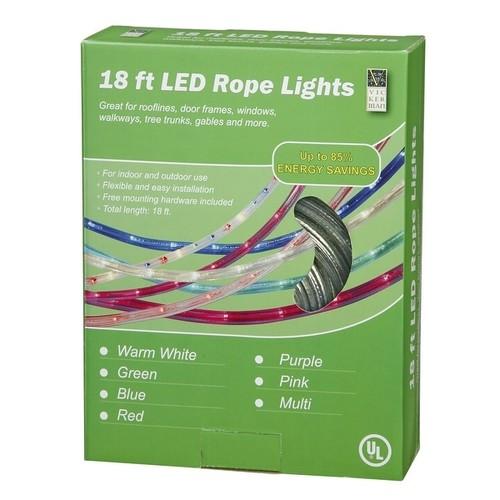 18' Pink LED RopeLt 13mm 2