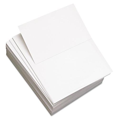 Domtar DMR851055 Custom Cut-Sheet Copy Paper, 92 Brightness, 20lb, 8-1/2x11, White, 2500/Carton