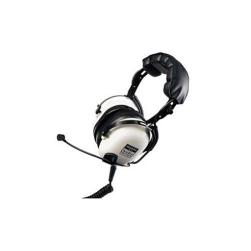 Remote Audio HN-7506 Headphones with Dynamic Boom Mic and Straight Cable HN7506DBS