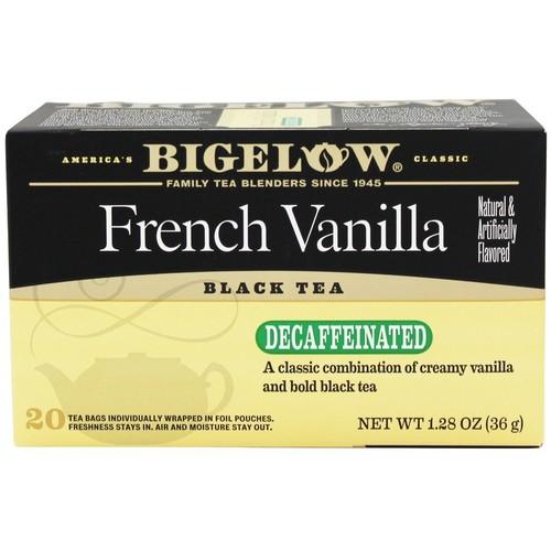 Bigelow Tea - Black Tea Decaffeinated French Vanilla - 20 Tea Bags