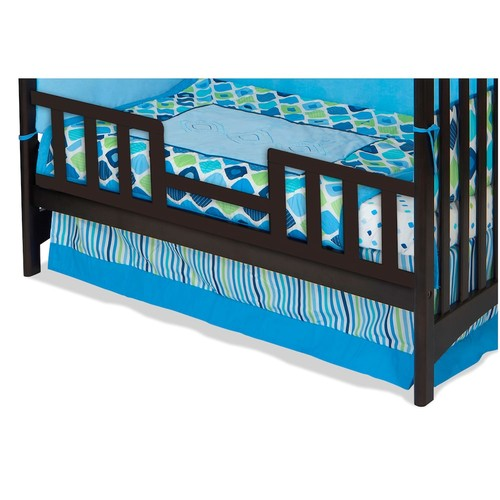 Child Craft London Toddler Guard Rail for London Euro Stationary Crib, Jamocha (Discontinued by Manufacturer)