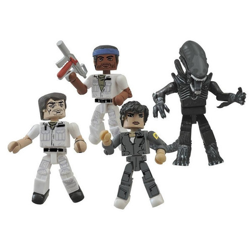 Alien 35th Anniversary Minimates Box Set - multi