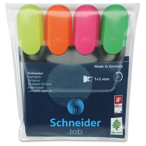 Stride Texmarker Highlighter 4-color Pack - Multi (4/Pack)