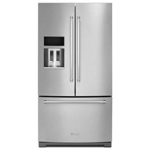 KitchenAid 26.8 Cu. Ft. French Door Refrigerator - Stainless Steel