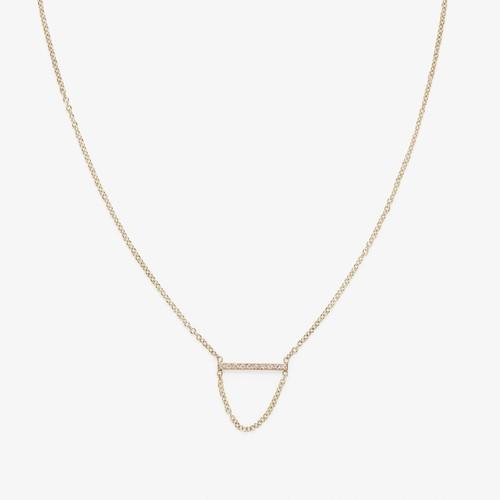 Zoe Chicco Small Diamond Chain Necklace