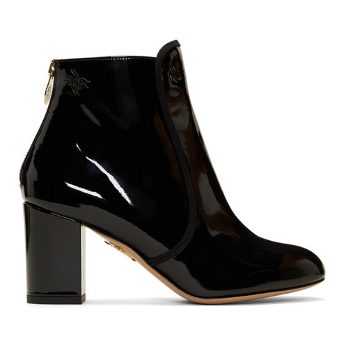 Black Patent Alba Boots