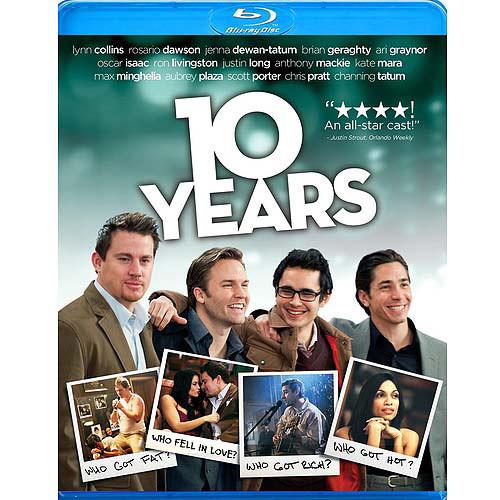 10 Years [Blu-ray]: Channing Tatum, Rosario Dawson, Chris Pratt, Aubrey Plaza, Justin Long, Jenna Dewan Tatum, Jamie Linden: Movies & TV
