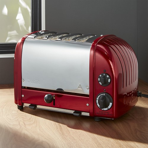 Dualit  NewGen 4-Slice Candy Apple Red Toaster