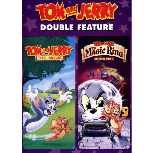 Tom and Jerry Double Feature: Tom and Jerry: The Movie/The Magic Ring [2 Discs] [DVD]