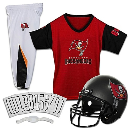 NFL Tampa Bay Buccaneers Youth Small Deluxe Uniform Set