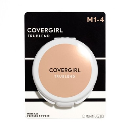 CoverGirl Trublend Pressed Powder, Translucent Honey 3, 0.39-Ounce Packages (Pack of 2)