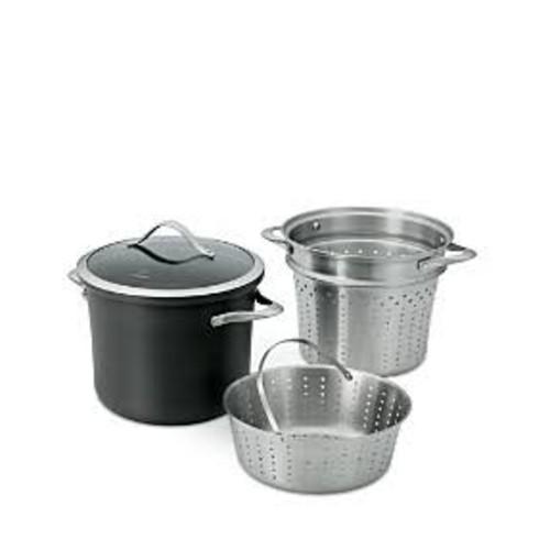 Calphalon Contemporary Nonstick 8-Quart Multi Pot with Steamer