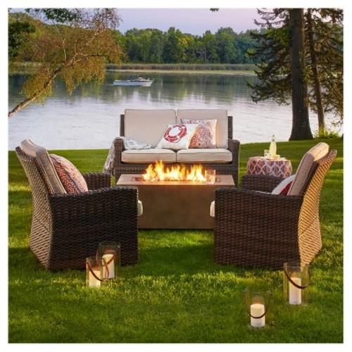 Landmann USA 28925 Ball of Fire Outdoor Fireplace [Black]