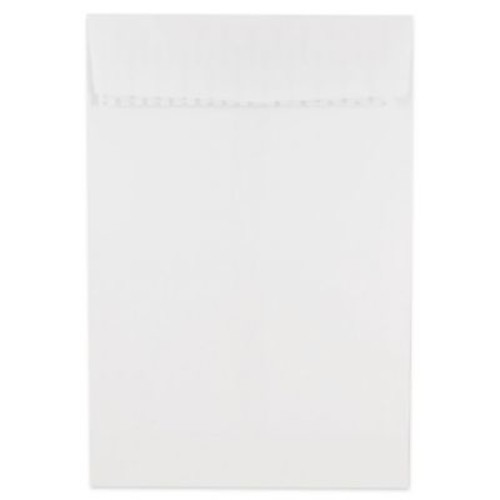 JAM Paper 6 x 9 Open End Envelopes with Self Adhesive Closure, White, 500/box (356828777)