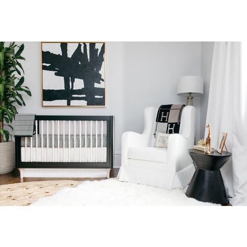 Black and White Crib Set