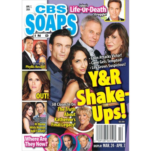 Soaps in Depth - CBS 1 Year Magazine Subscription