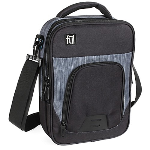 ful Tango Messenger Bag in Black