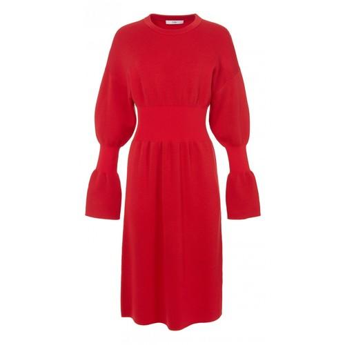 TIBI Merino Wool Sweater Dress