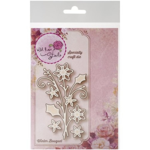Wild Rose Studio Specialty Die-Winter Bouquet