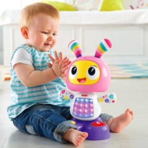 Fisher-Price DYK00 Dance & Move Beatbelle Baby Toy - Pink