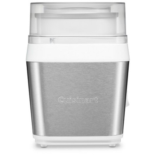 Cuisinart ICE-31 Fruit Scoop Frozen Dessert and Ice Cream Maker, Stainless Steel [Stainless Steel, One Size]