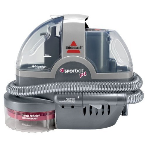 BISSELL SpotBot Pet Handsfree Spot and Stain Portable Carpet and Upholstery Cleaner, 33N8A [Spotbot Only]