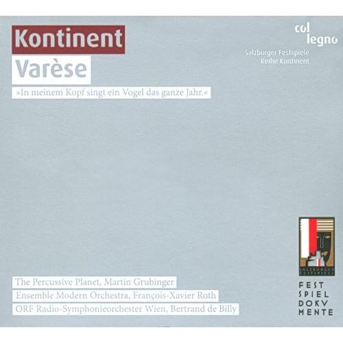 Kontinent Varse [CD]