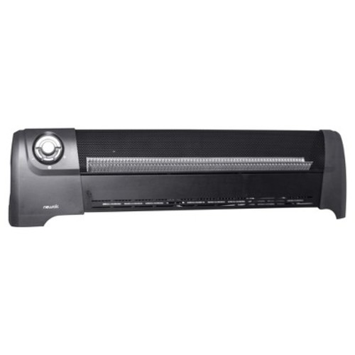 Air AH-600 1500W 600 Sq Ft Low Profile Baseboard Heater