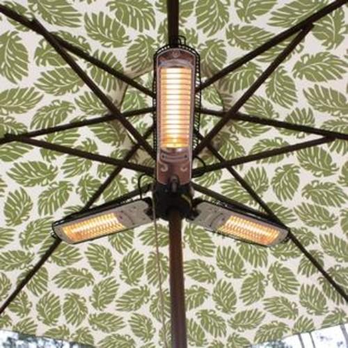 Fire Sense 60404 Umbrella Halogen Patio Heater