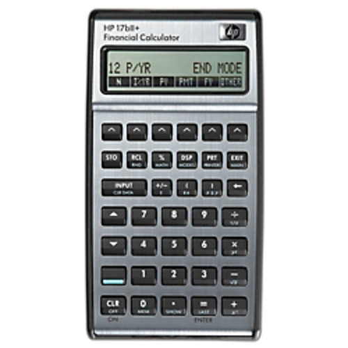 HP 17bII+ Financial Algebraic Calculator